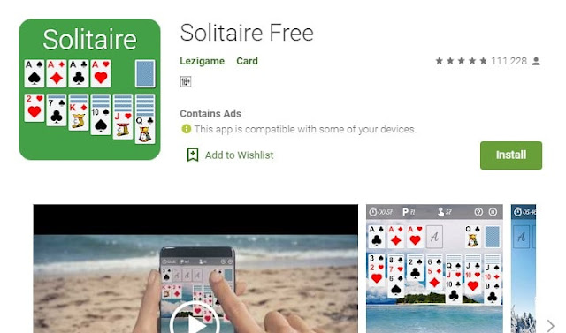 solitaire download for android