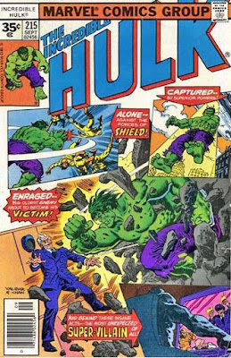 The Incredible Hulk #215, SHIELD