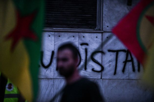 Η ΕΛ.ΑΣ. απαγόρευσε πορεία Κούρδων προς τη τουρκική πρεσβεία