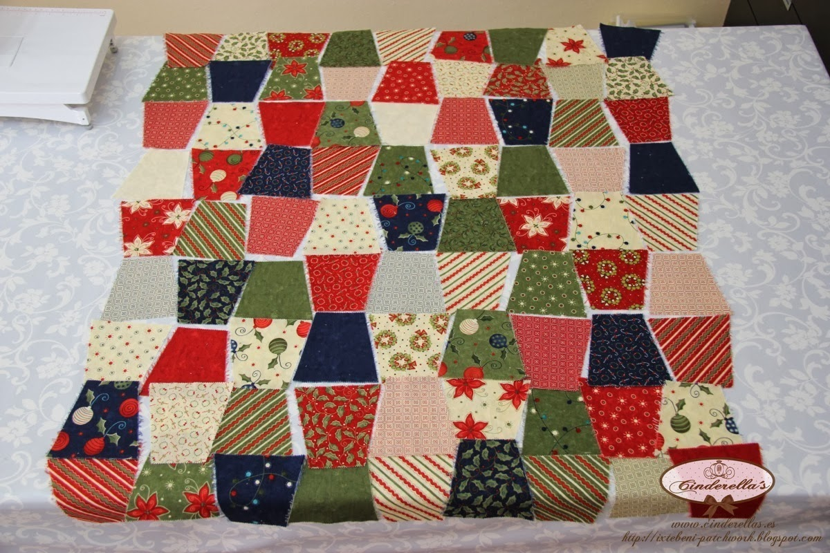 Christmas Charm Pack Quilt