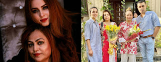 Nimra Khan Pictures with her Mother and Mother in Law