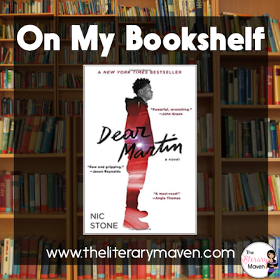 Dear Martin by Nic Stone is focused on police brutality and shootings targeting African American males, and a natural follow up to All American Boys and The Hate U Give. Read on for more of my review and ideas for classroom application.