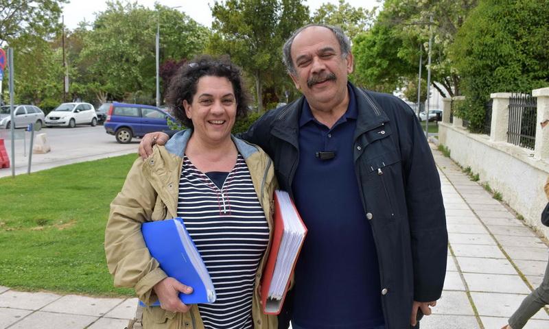 Κατάθεση ψηφοδελτίων της Λαϊκής Συσπείρωσης Δήμου Αλεξανδρούπολης