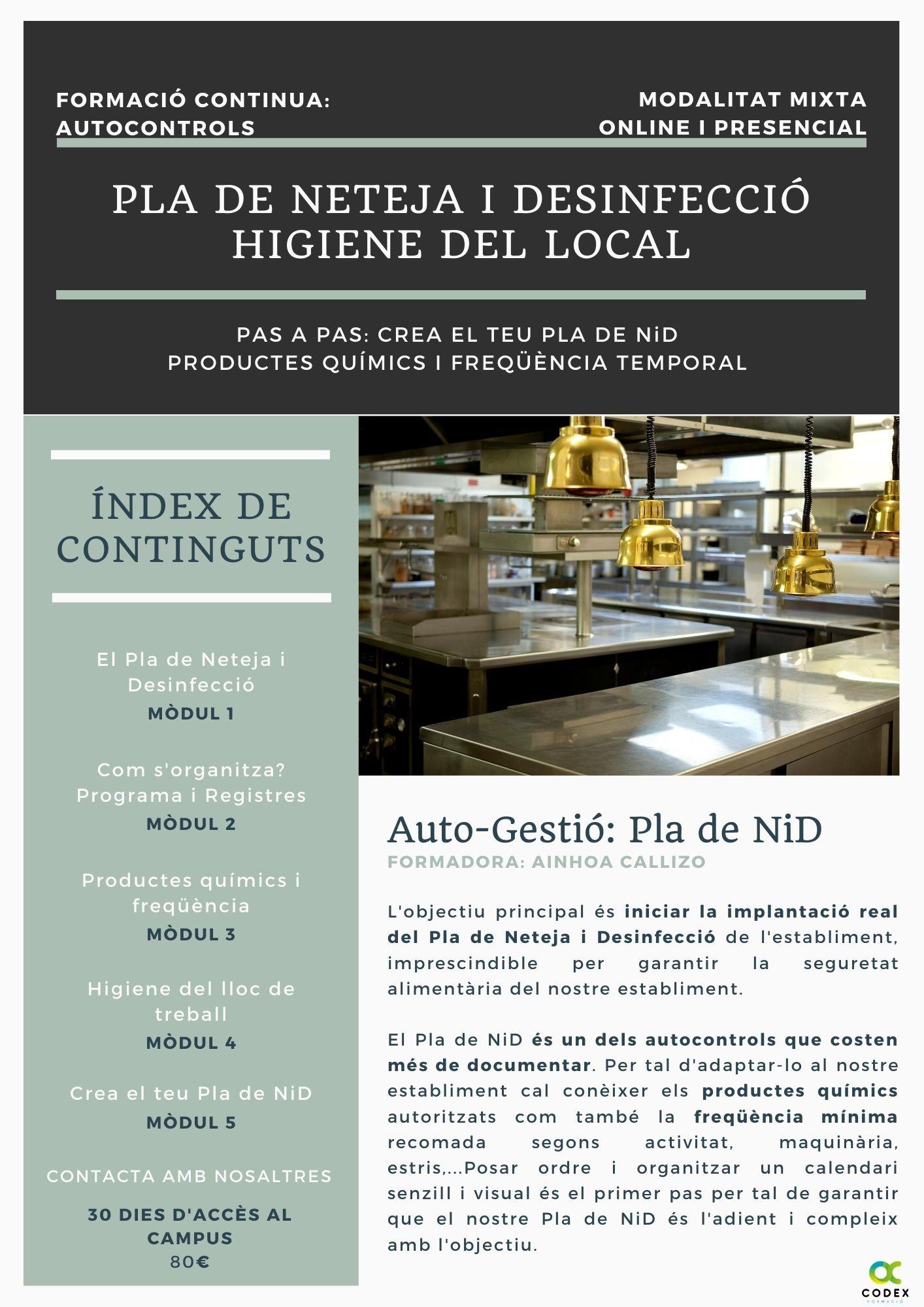 Codex Formació Seguretat Alimentària
