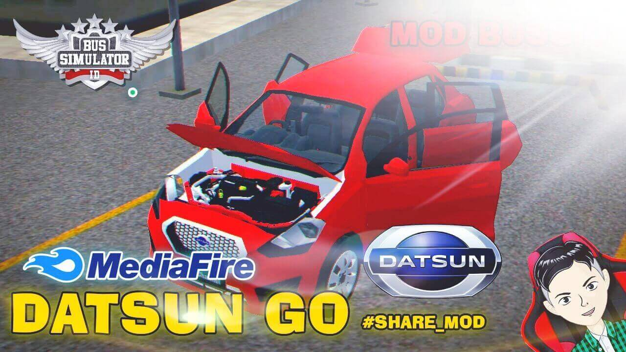 Mod Bussid Datsun GO Car