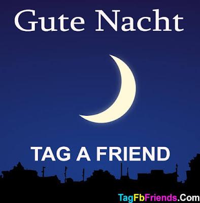 Good Night in German language