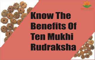 KNOW THE BENEFITS OF TEN MUKHI RUDRAKSHA