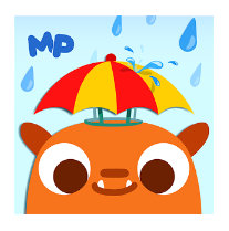 App infantil sobre tiempo atmosférico