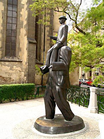 Jaroslav Róna 1957 | Franz's Kafka Memorial | Prague 2003