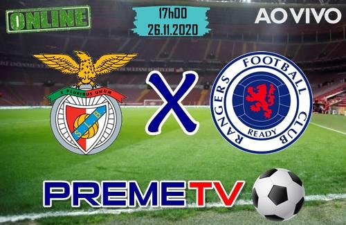 Rangers x Benfica Hoje Ao Vivo