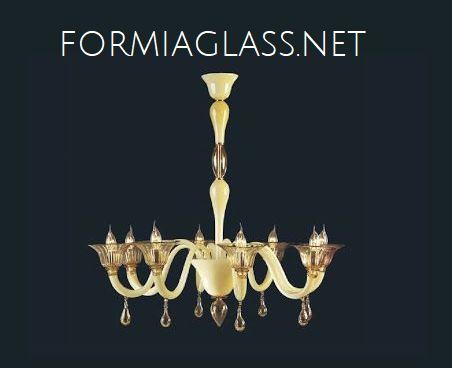ambra-chiaro-lampadario-di-murano-in-vetro-soffiato