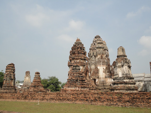 Wat Rattanamahathat, Ayutthaya, gare, bangkok, lopburi, phitchanulok, singe, temple, Thaïlande, train