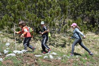 Per i ragazzi è un percorso bello e divertente