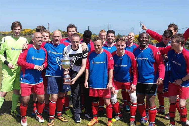 Malibu FC Winning the Cup