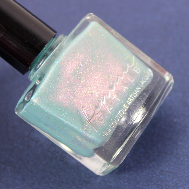 Femme Fatale + The Polishing Life - Dropping Through Sky Nail Polish Swatches & Review