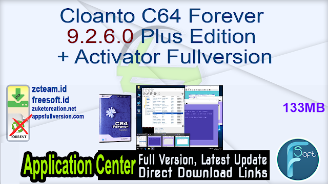 Cloanto C64 Forever 9.2.6.0 Plus Edition + Activator Fullversion