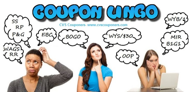 Coupon Lingo with definitions!