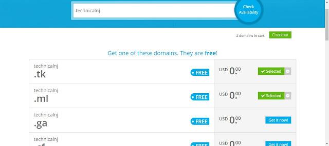 Technicalnj.com , how to create domain