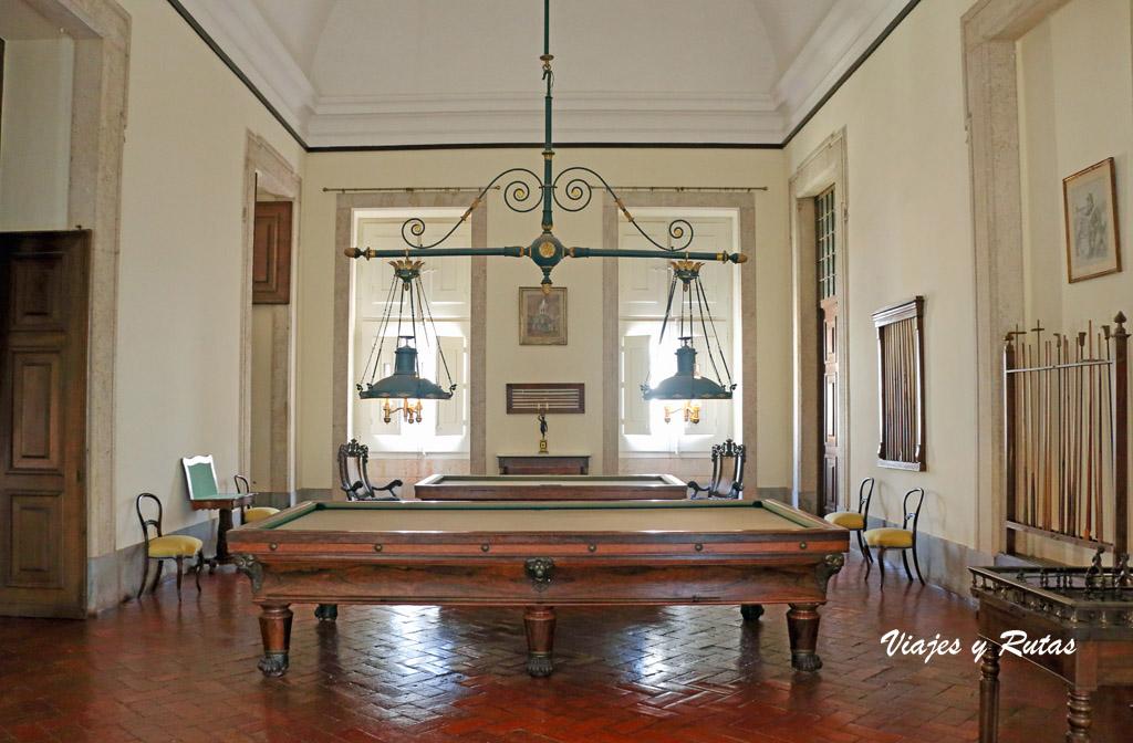 Dependencias del Palacio de Mafra, Portugal