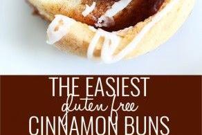 Yeast Free, Gluten Free Cinnamon Buns