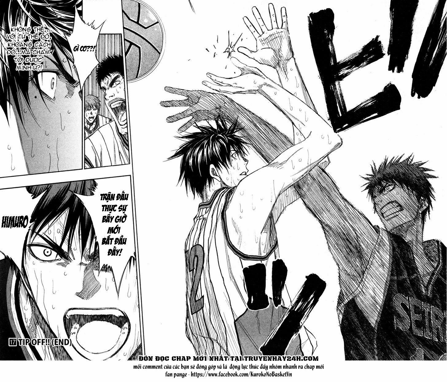 Kuroko No Basket chap 153 trang 17