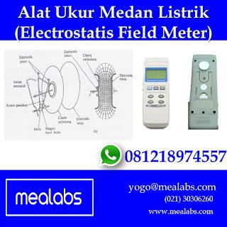 Prinsip Kerja Alat Ukur Medan Listrik (Electrostatic Field Meter)