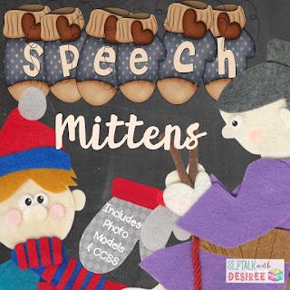 Speech mittens