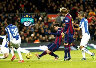 برشلونة امام اسبانيول في اختبار صعب