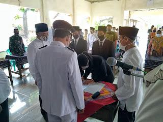 Pelda Sukirman Wakili Danramil 05/Mayong Hadiri Pelantikan Sumpah Jabatan