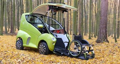 """""""Elbee"""", un vehículo diseñado con el objetivo de mejorar la movilidad de personas con discapacidad física"""