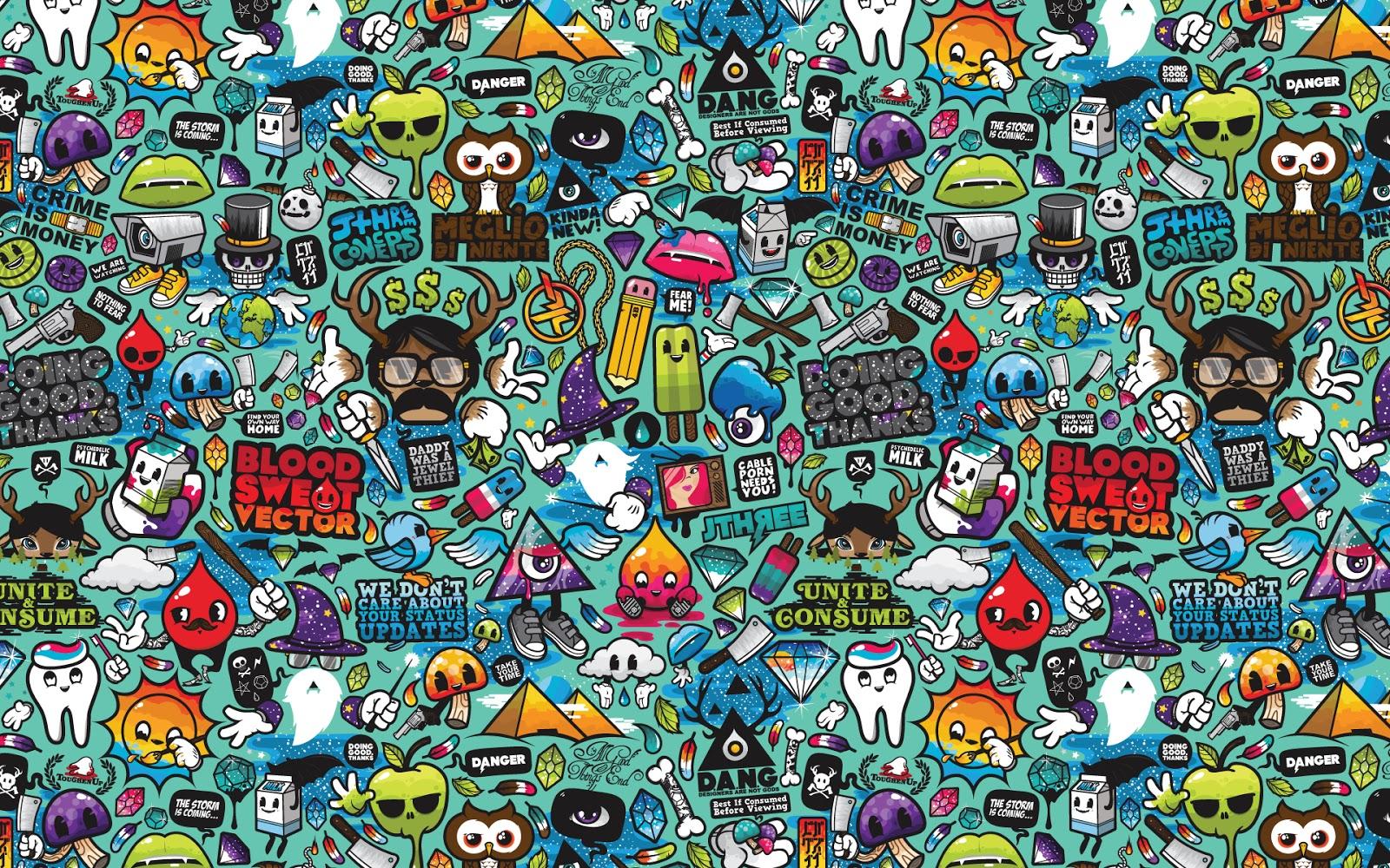 abstract art wallpaper cartoon - photo #35