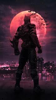 Neon City Batman Beyond Mobile HD Wallpaper