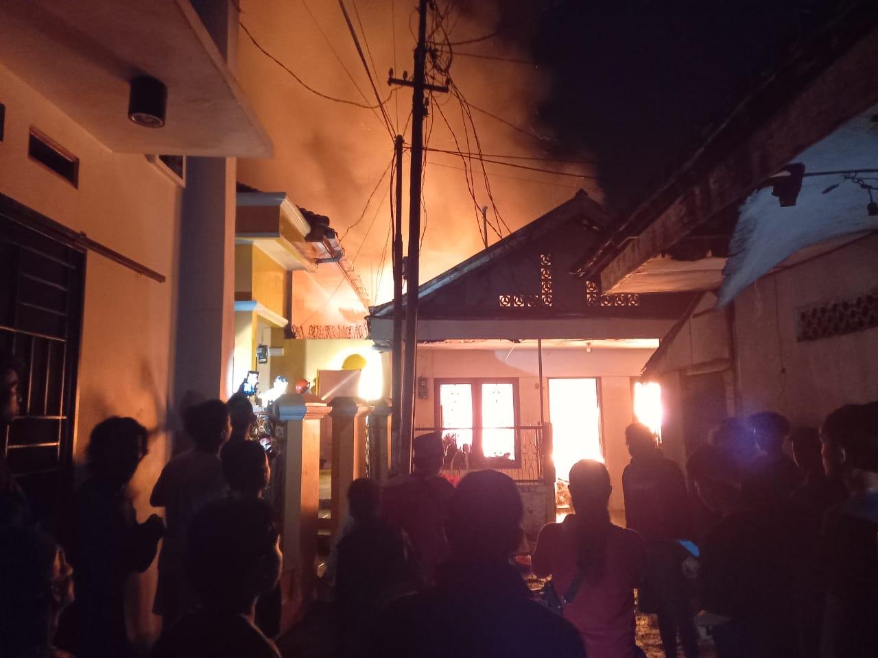 Satu Orang Tewas dalam Kebakaran di Dekat Gereja Pentakosta Rangkasbitung