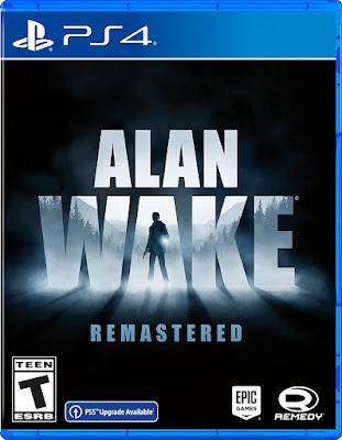Alan Wake Remastered Game Ps4