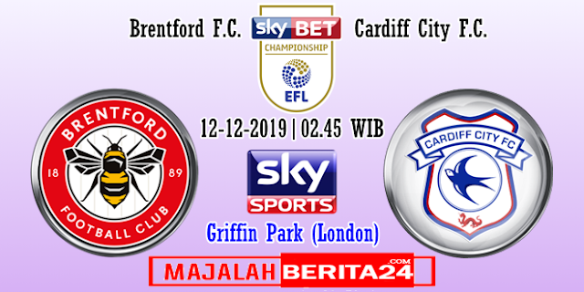 Prediksi Brentford vs Cardiff City — 12 Desember 2019