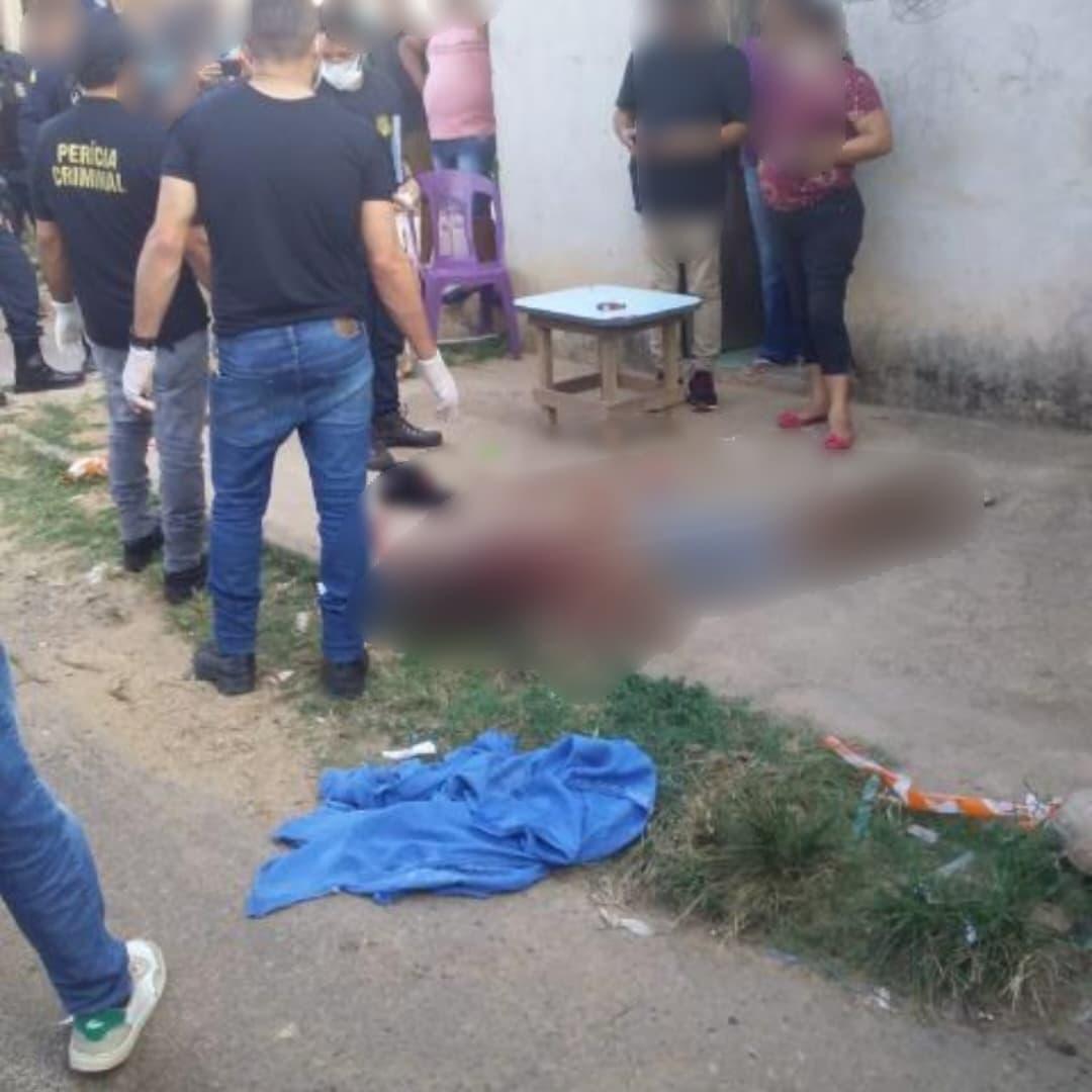Jovem morre após ser alvejado com vários tiros