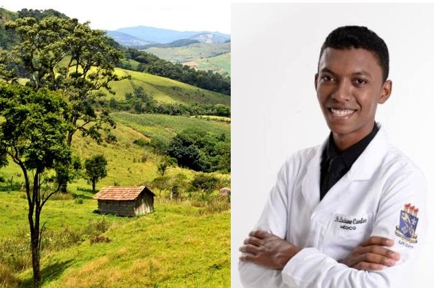 Da roça ao consultório: conheça a história do agora 'doutor' Luciano