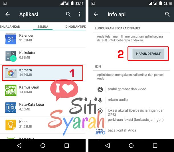 merubah aplikasi default android