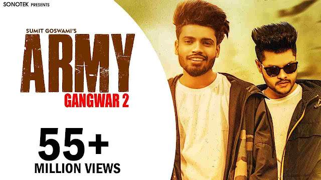 Army Lyrics - Sumit Goswami