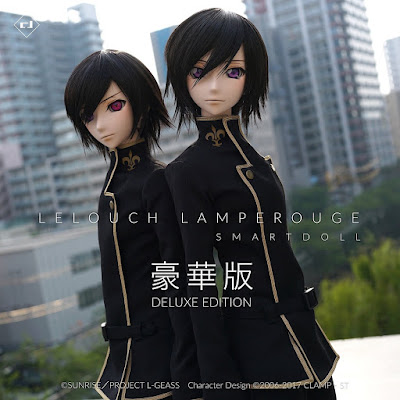 """Preview de Lelouch Lamperouge ed. Default y Deluxe  de """"Code Geass"""" - Smart Doll"""