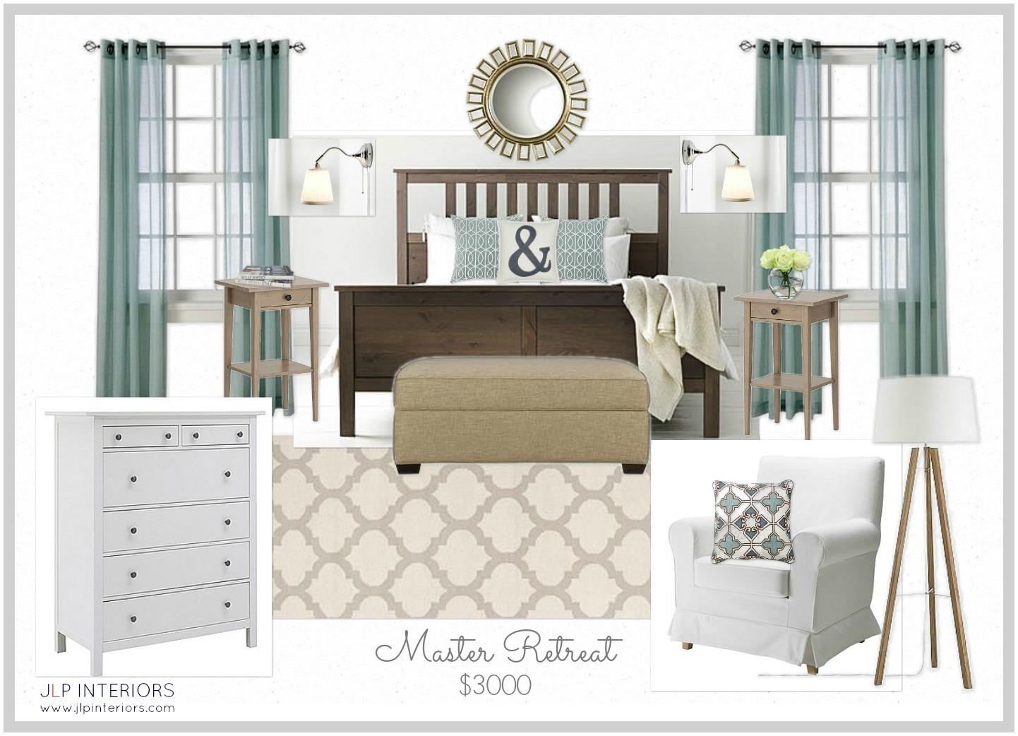 Attic Floor Plan Home With Baxter Mood Board Monday Master Bedroom Retreat