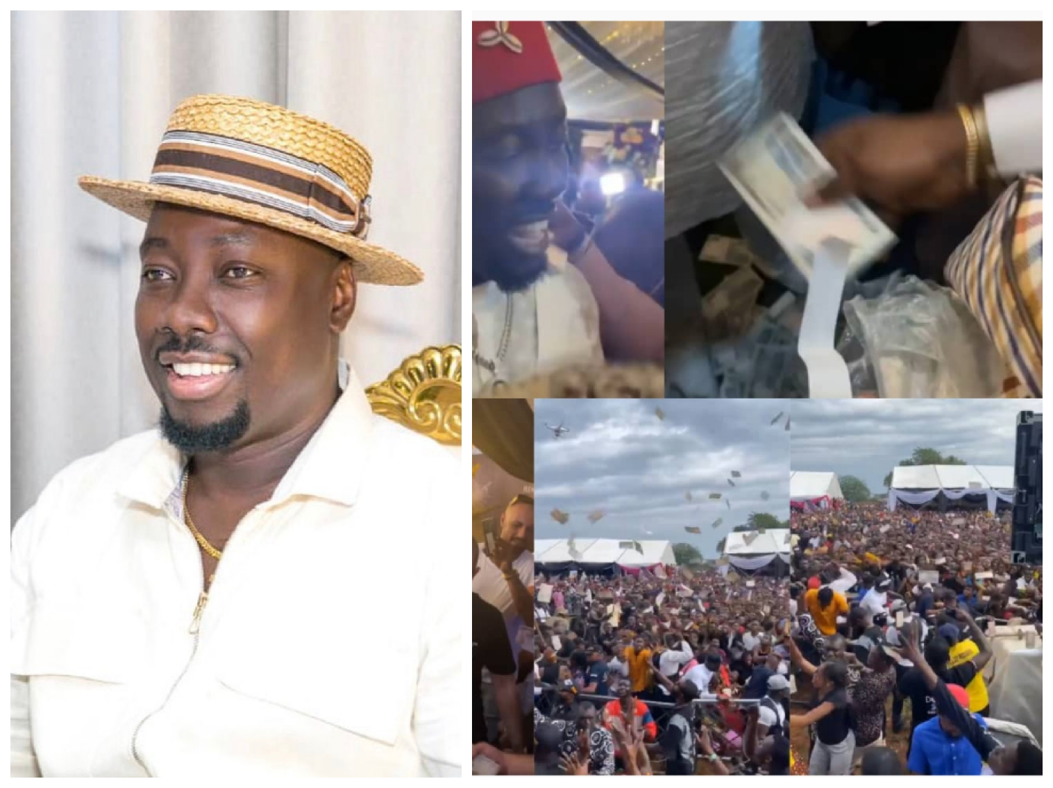 Do These 2 Things Immediately If You Were Among Those Who Picked Up Money At Obi Cubana's Mother's Burial