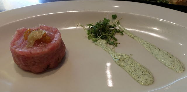 Smoked Tuna with Dill Mayonnaise