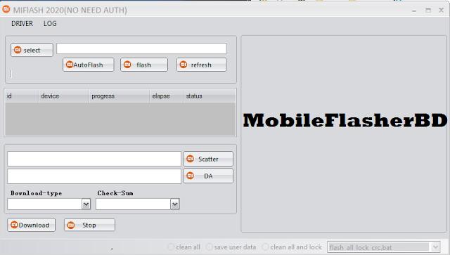 Download Xiaomi Mi Flash 2020 MTK SP Tool Free Without Password By Jonaki TelecoM