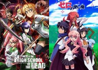 Rekomendasi Anime Harem Ecchi Terbaik yang Bikin Iri Para Jomblo