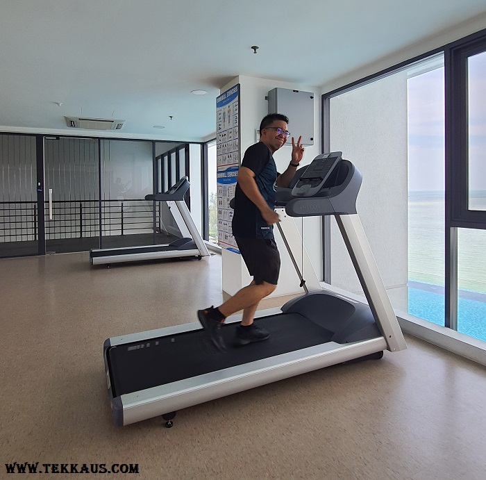 Tanjung Point Residences review-Gym