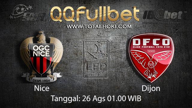 Prediksi Bola Jitu Nice vs Dijon ( French Ligue 1 )