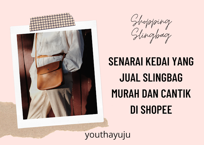 Sling bag Murah di Shopee