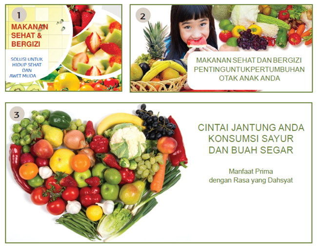 Tubuh manusia mengolah makanan menjadi nutrisi yang bermanfaat bagi kesehatan dan pertumb Menentukan Kata Kunci Pada Iklan Elektronik