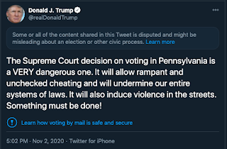 Twitter Censors Trump